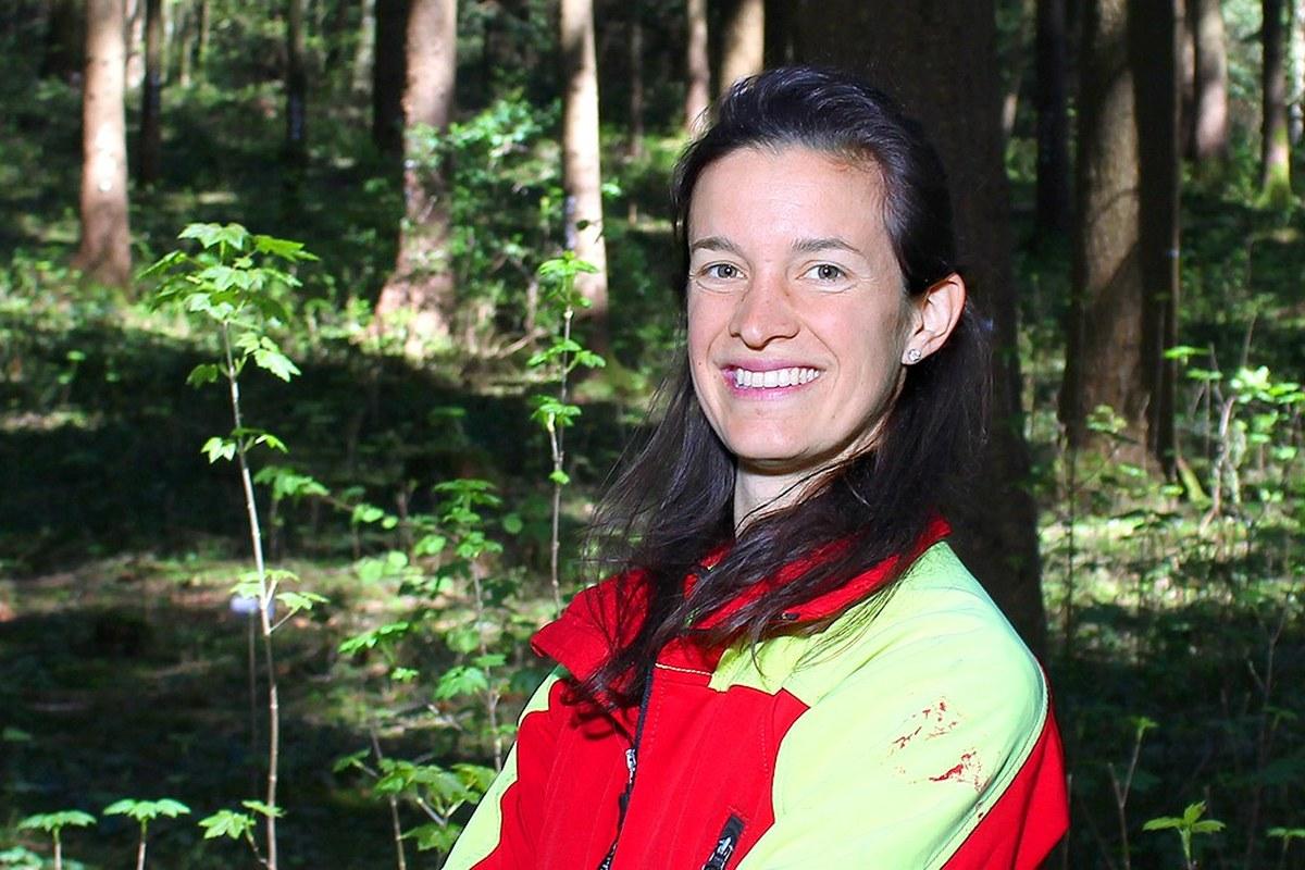 Alessia Galli, Forstwartin. Vergrösserte Ansicht