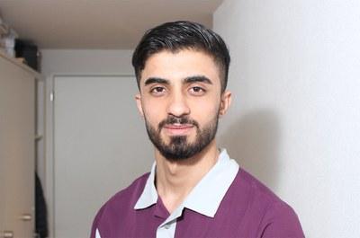Abdullatif Ali, Pfleger im Burgerspittel im Viererfeld