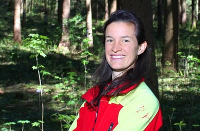 Bäume sprechen nicht», antwortet Alessia Galli auf die Frage, was ihr am Wald so besonders gefalle.