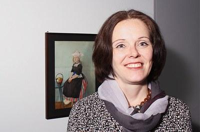 Stephanie Gropp, Historikerin Burgerbibliothek Burgergemeinde Bern