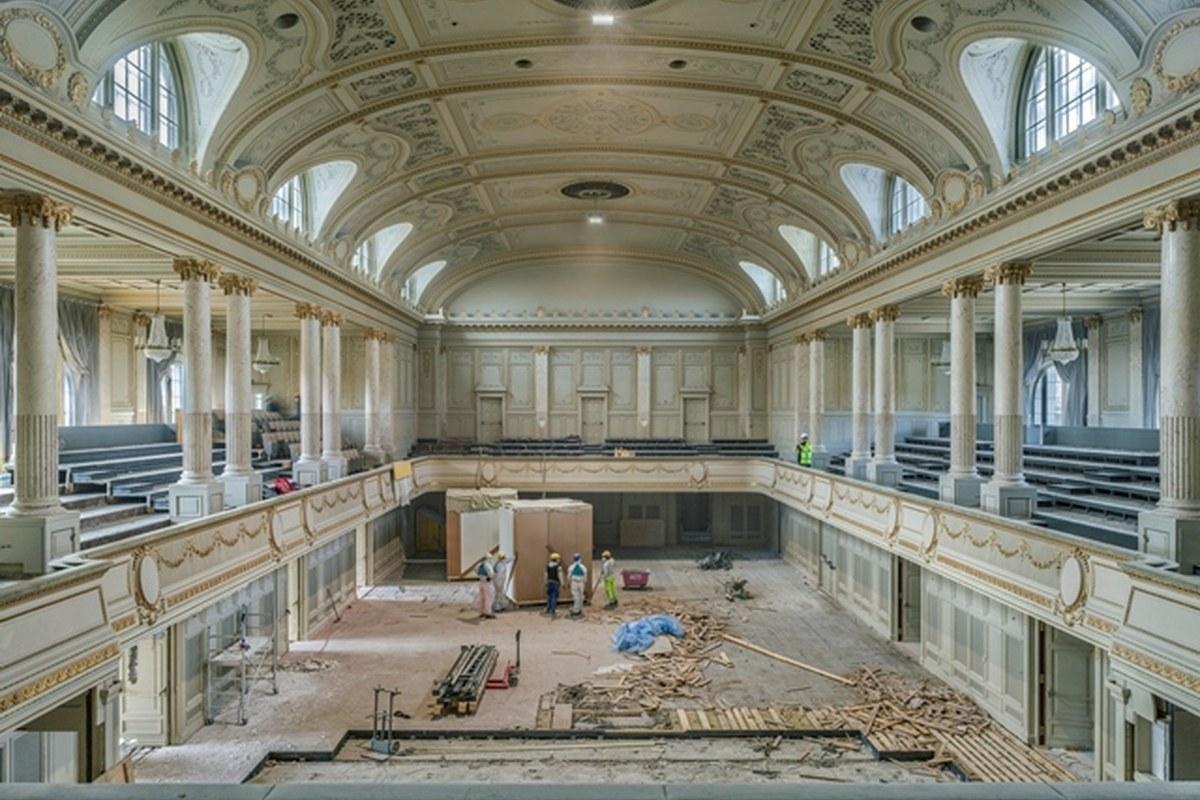 Grosser Saal. Vergrösserte Ansicht