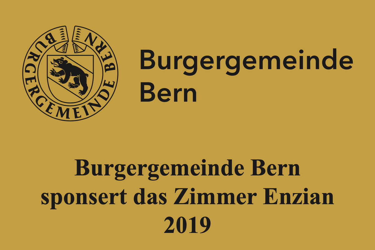 Zimmerpatenschaft der Burgergemeinde Bern. Vergrösserte Ansicht