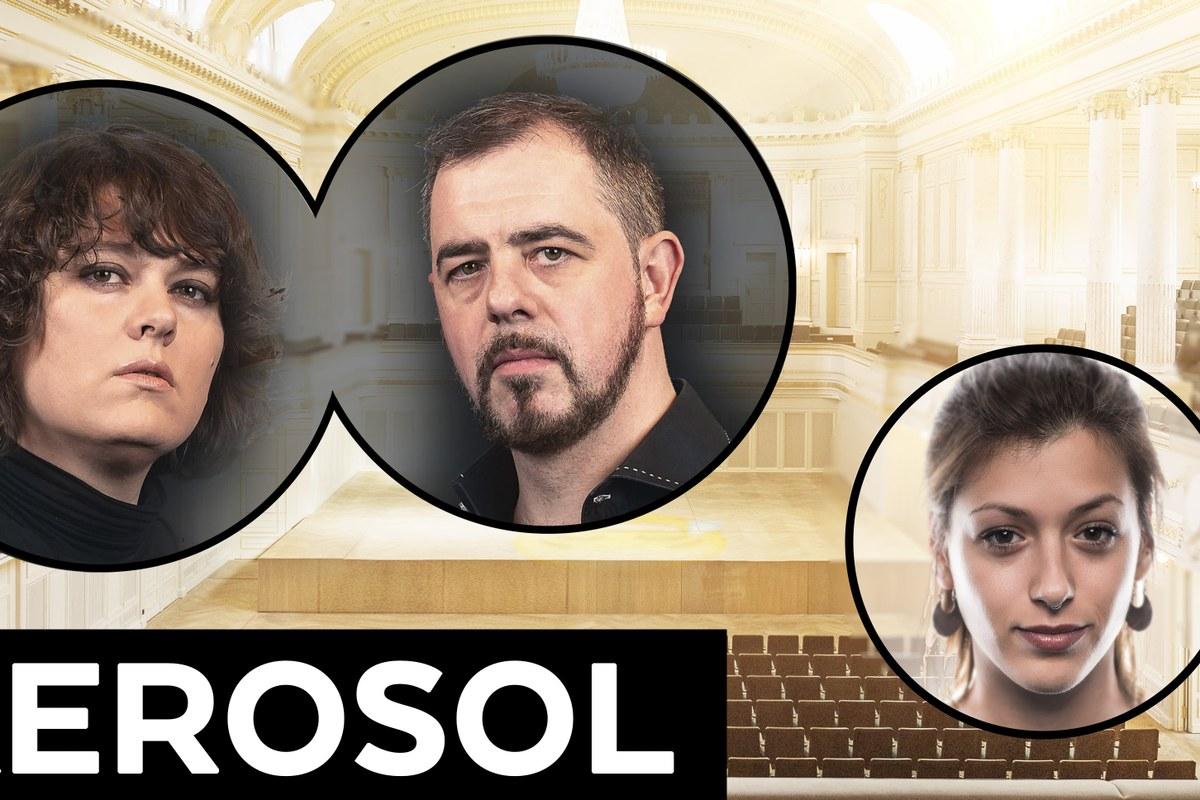 Patti Basler, Philippe Kuhn und Lisa Christ (4. Juli 2020). Vergrösserte Ansicht