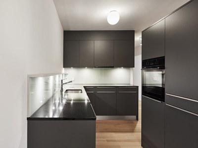 Jupiterstrasse 45, Küche Musterwohnung