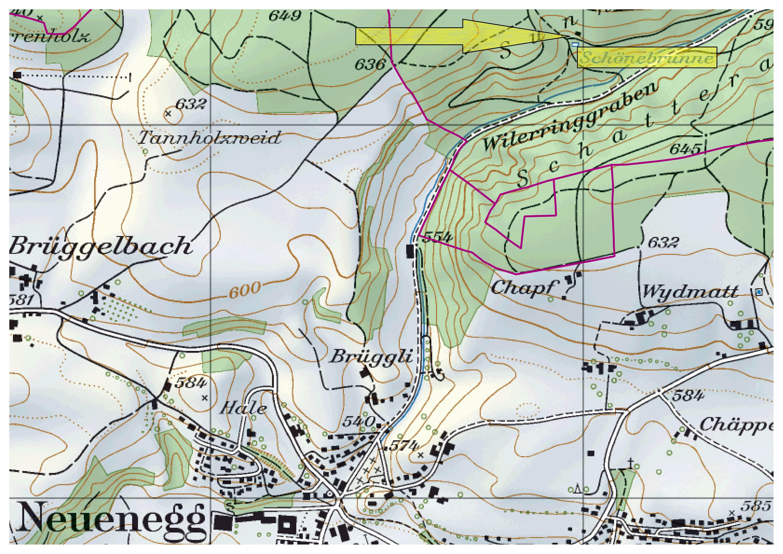 Schönenbrunnen (Karte)