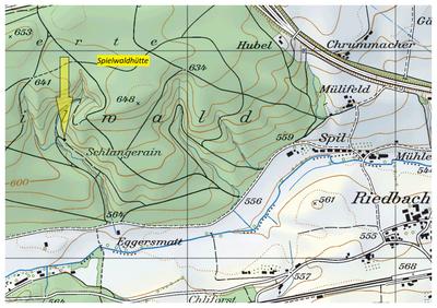 Spilwaldhütte (Karte)