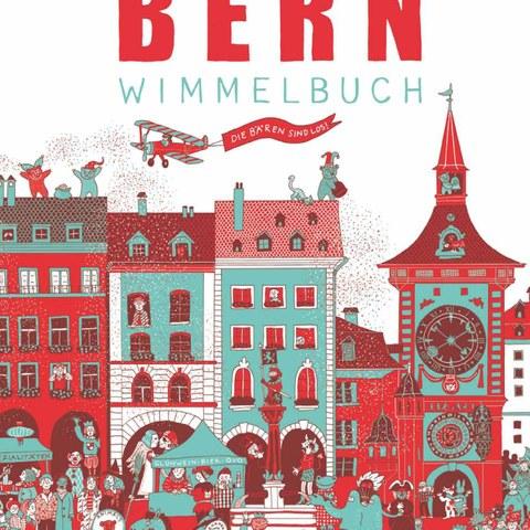 Das «Bern-Wimmelbuch» zeigt